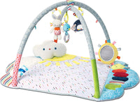 GUND Baby Tinkle Crinkle & Friends Arch Activity Gym Playmat Sensory Stimulating Plush 8-Piece Set