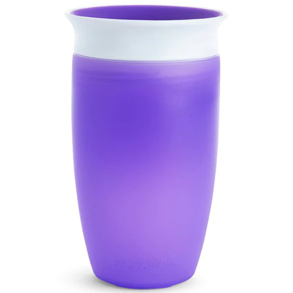 Munchkin Miracle 360 Sippy Cup, 10 ounce -1 pack , Purple