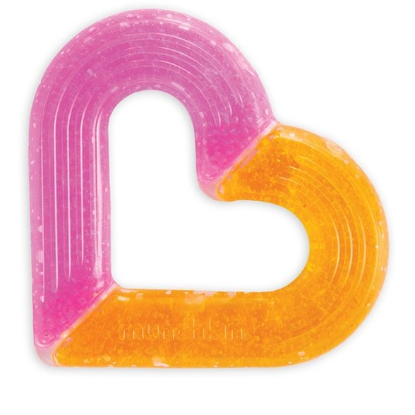 Munchkin Ice Heart Gel Teether,