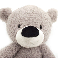 Gund Fuzzy Teddy Bear Stuffed Animal Plush Toy, Gray, 13.5""