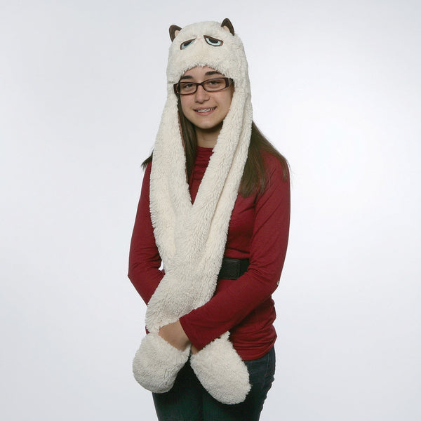 Gund  Grumpy Cat Scarf Hat Plush