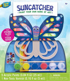 MasterPieces -Works of Ahhh... Real Wood Large Acrylic Paint & Craft Kit, Suncatcher, For Ages 4+