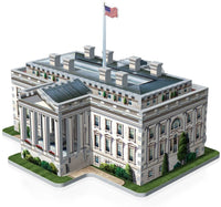 WREBBIT 3D The White House-3D Jigsaw Puzzle. Box is damaged .