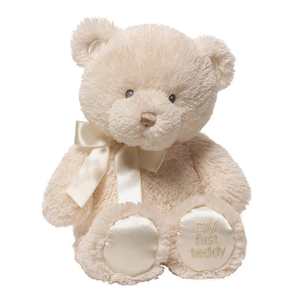 GUND My First Teddy Bear Stuffed Animal Plush, Cream, 10""