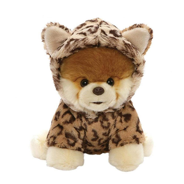 GUND World's Cutest Dog Boo Leopard Outfit Plush Stuffed Animal 9""
