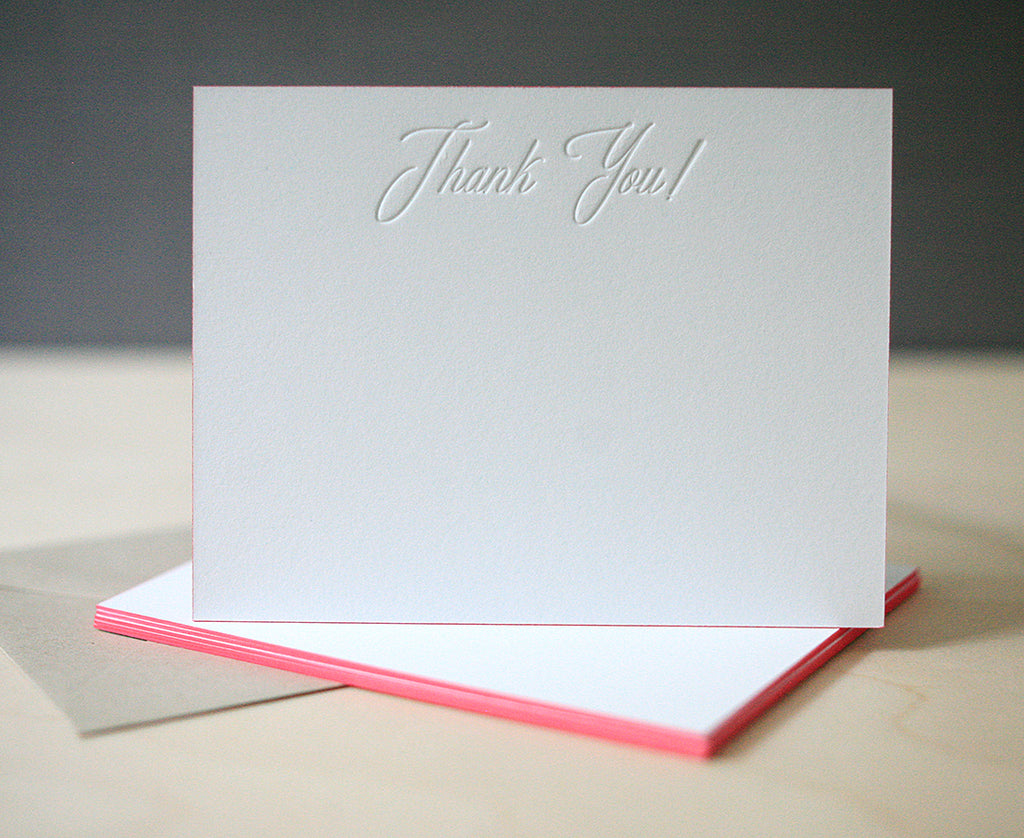 Thank You Note Tips & Etiquette