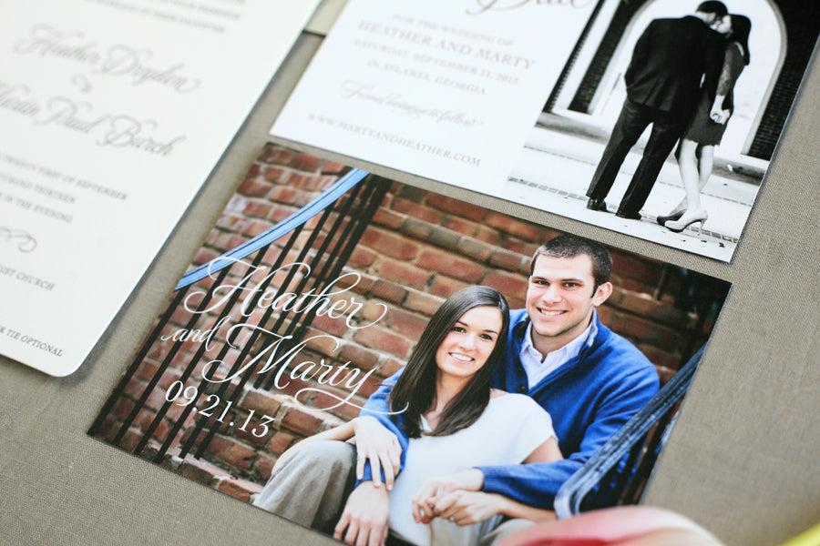 Custom Photo Save the Dates
