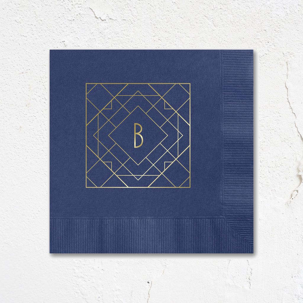 Blakely Monogram Napkins