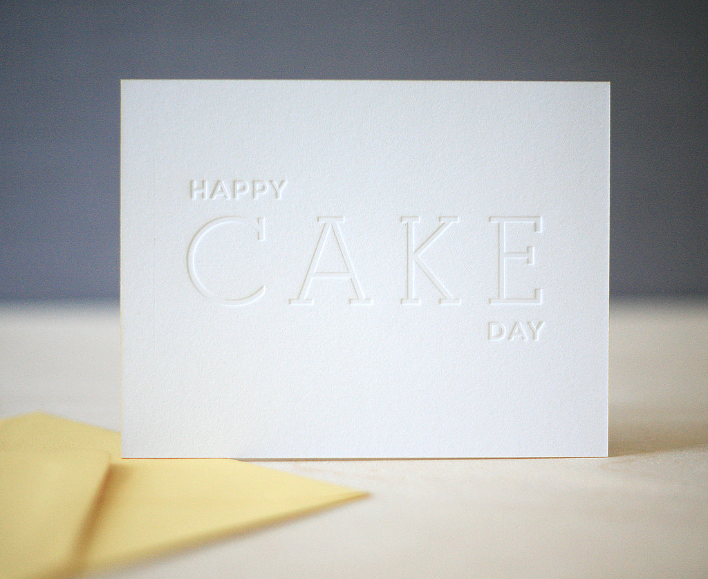 Cake Day Greeting Card