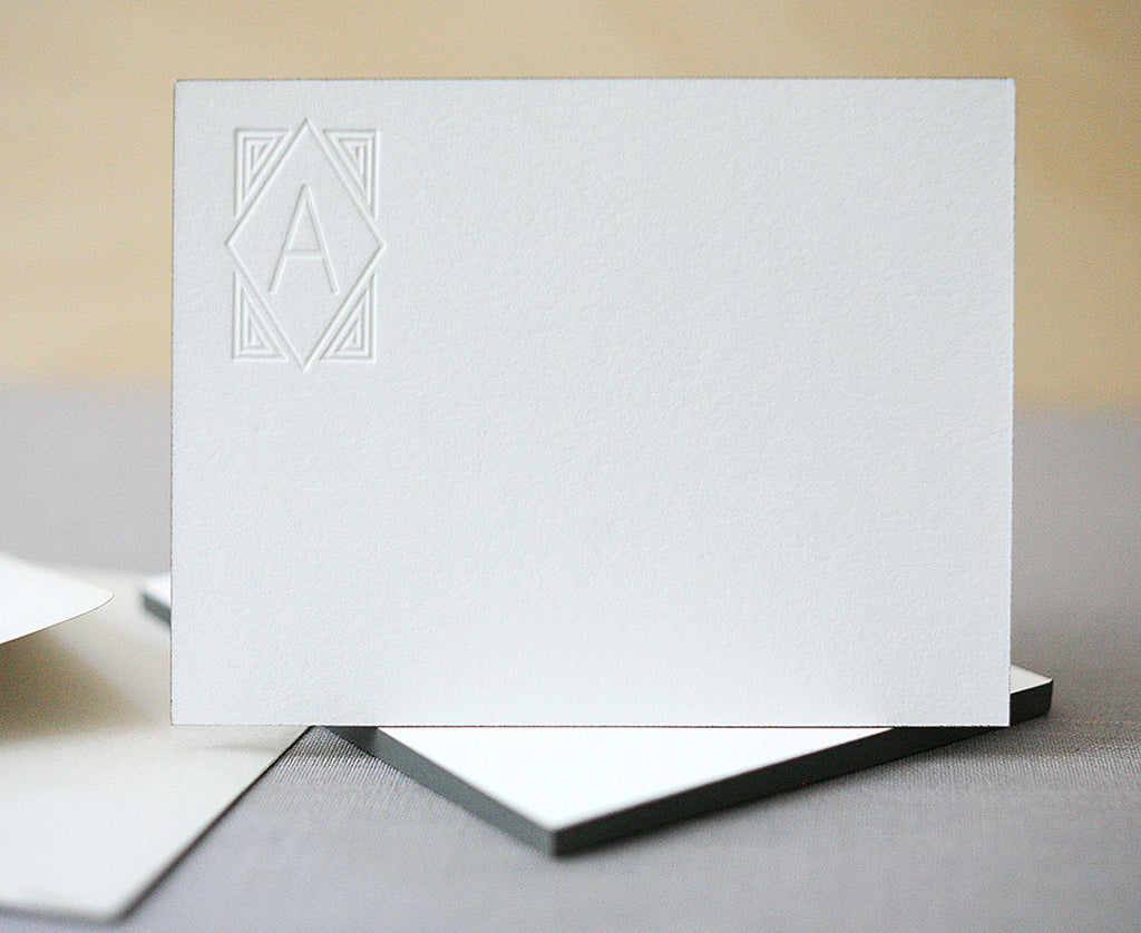 Deco Monogram Notes