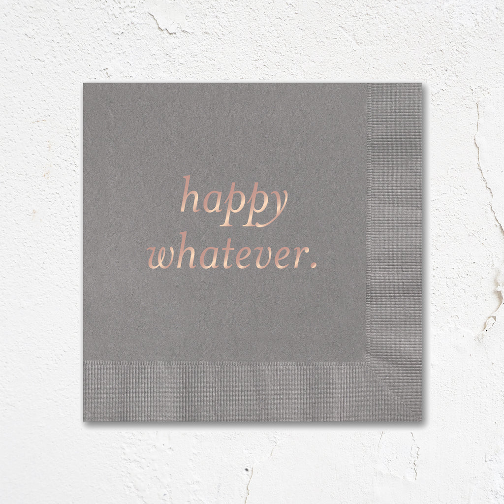 Happy Whatever Party Napkins