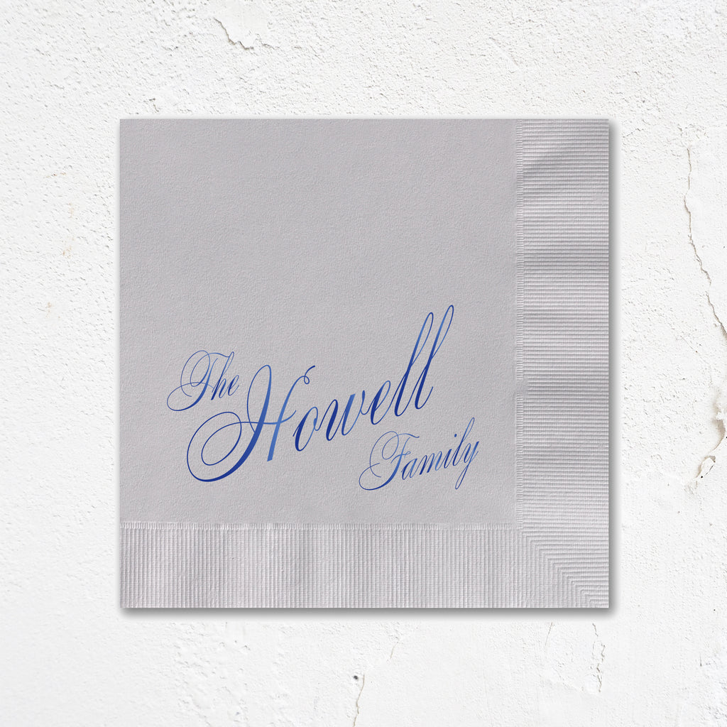 Howell Personalized Napkins