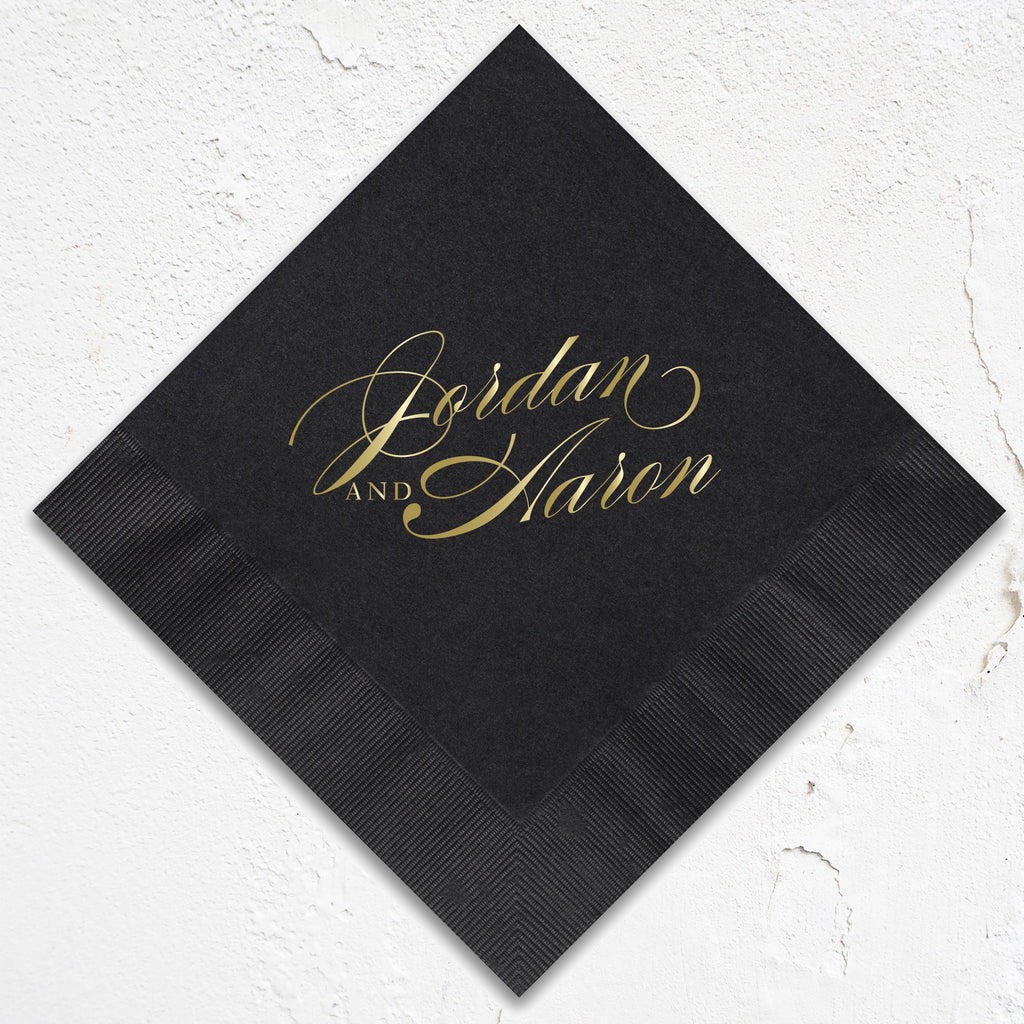 Jordan Wedding Napkins