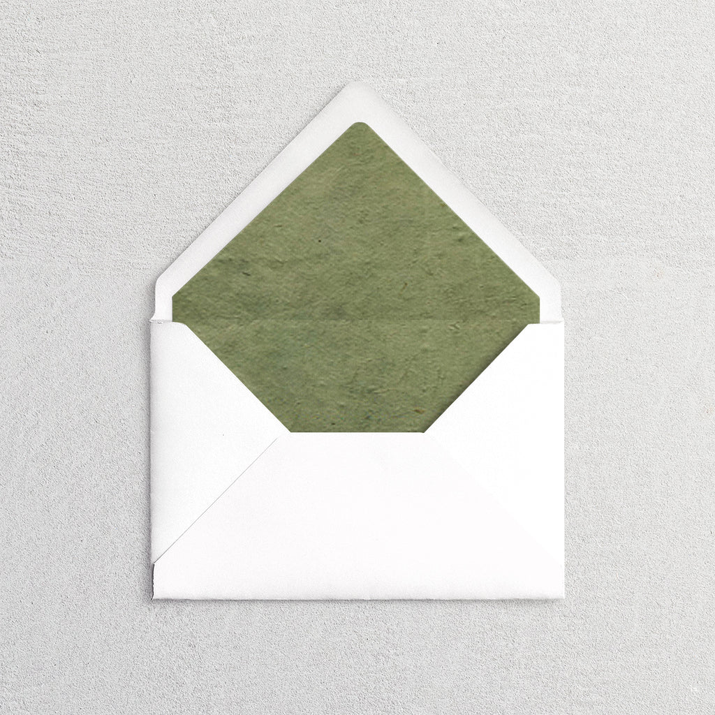 Natural Paper Envelope Liners