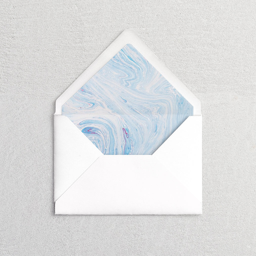 Marbled Envelope Liners