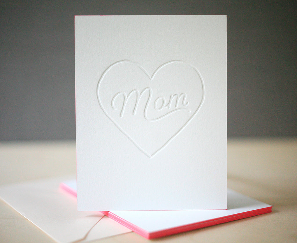 Mom Heart Mother's Day Card