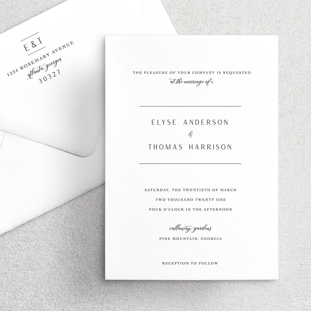 Invitation Suite No. 12