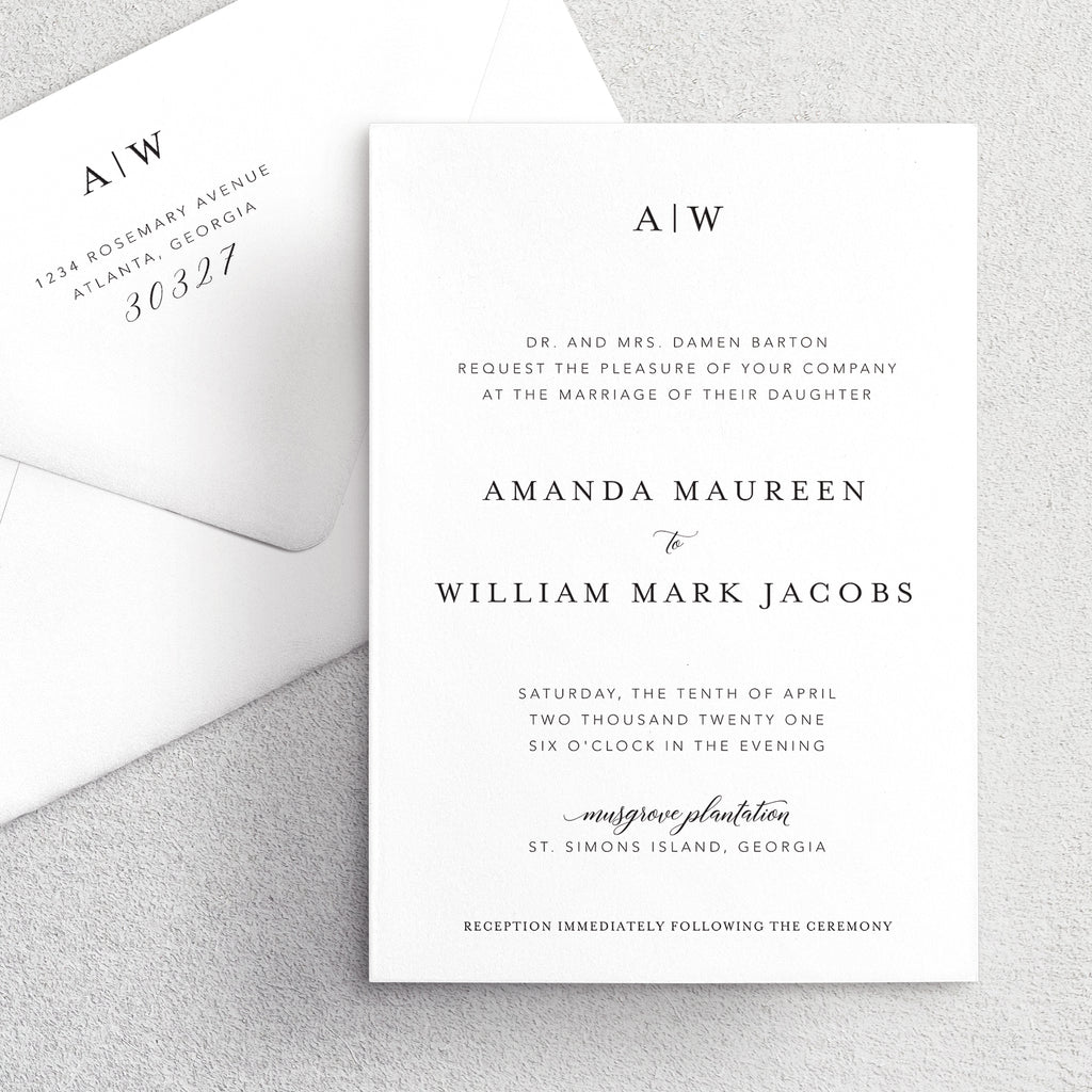 Invitation Suite No. 13