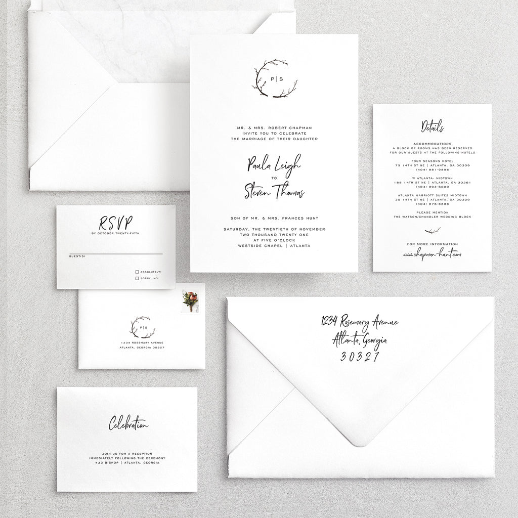 Invitation Suite No. 15