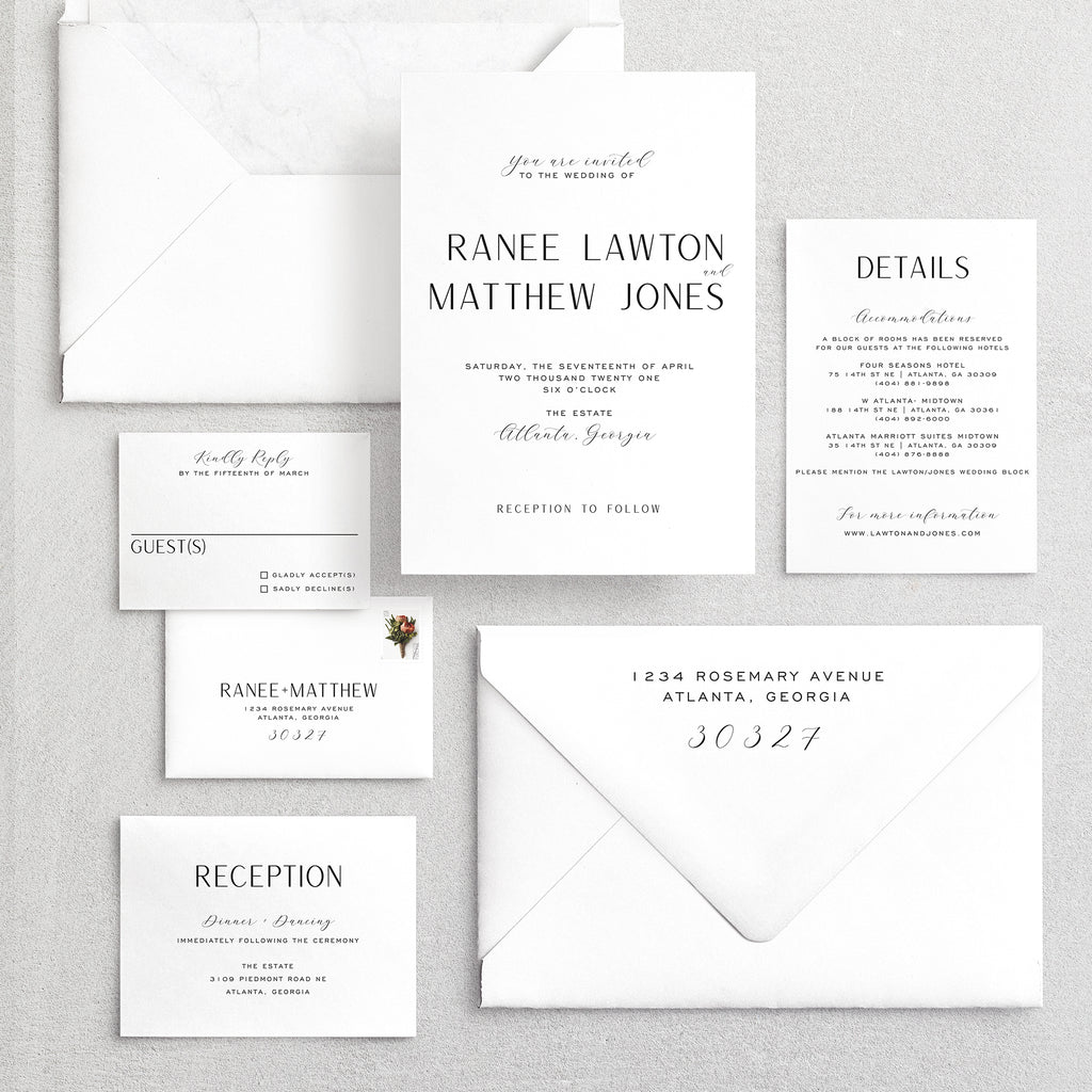 Invitation Suite No. 1