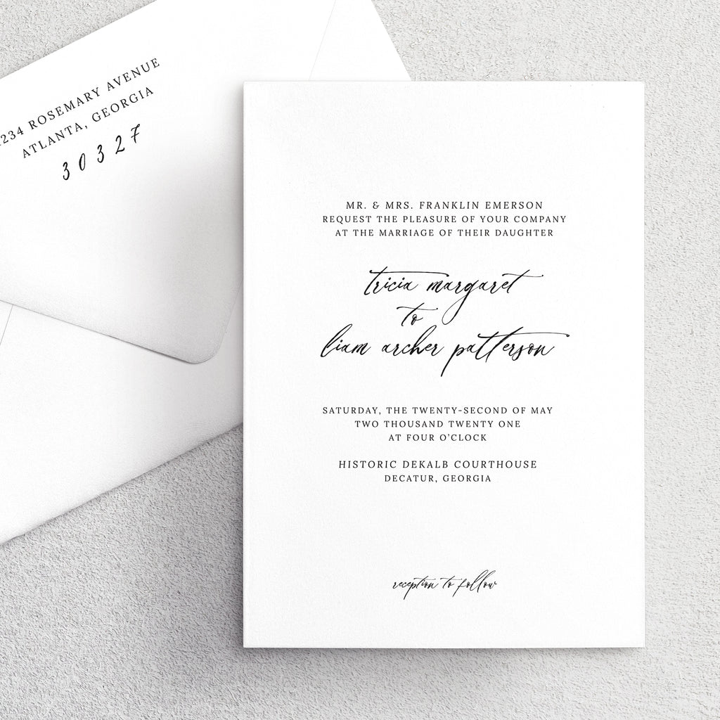 Invitation Suite No. 20