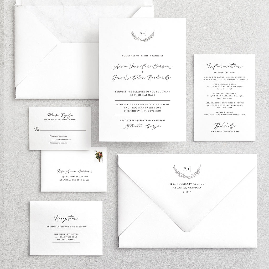 Invitation Suite No. 21