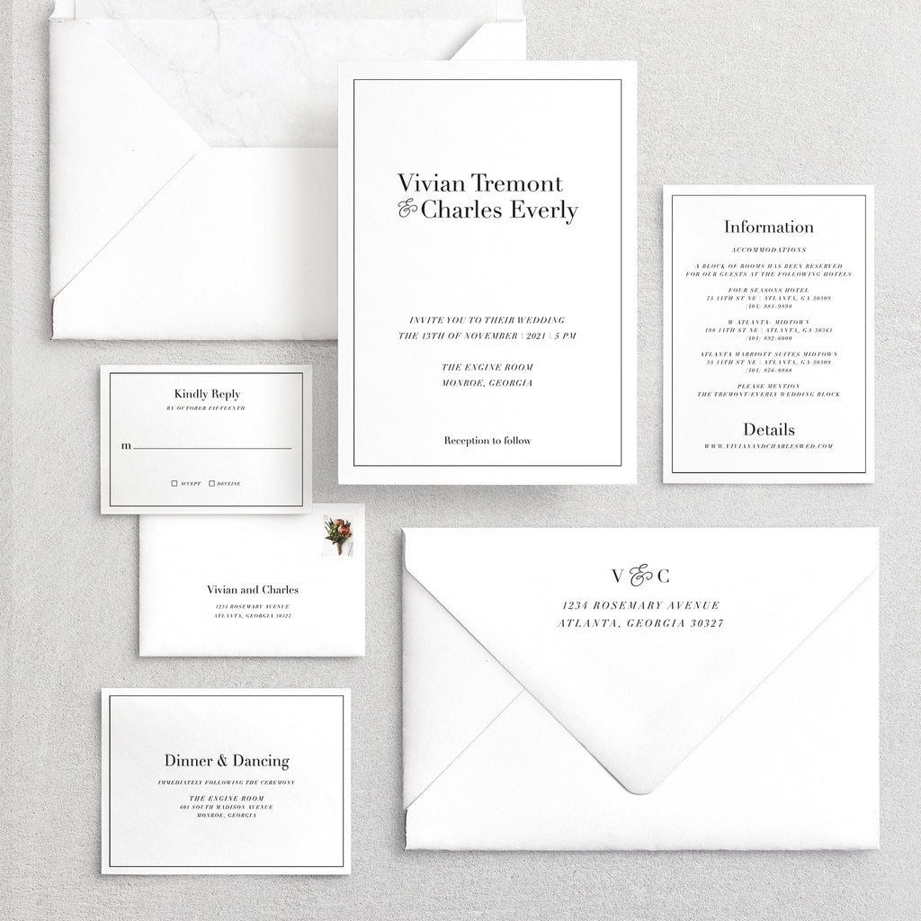 Invitation Suite No. 22