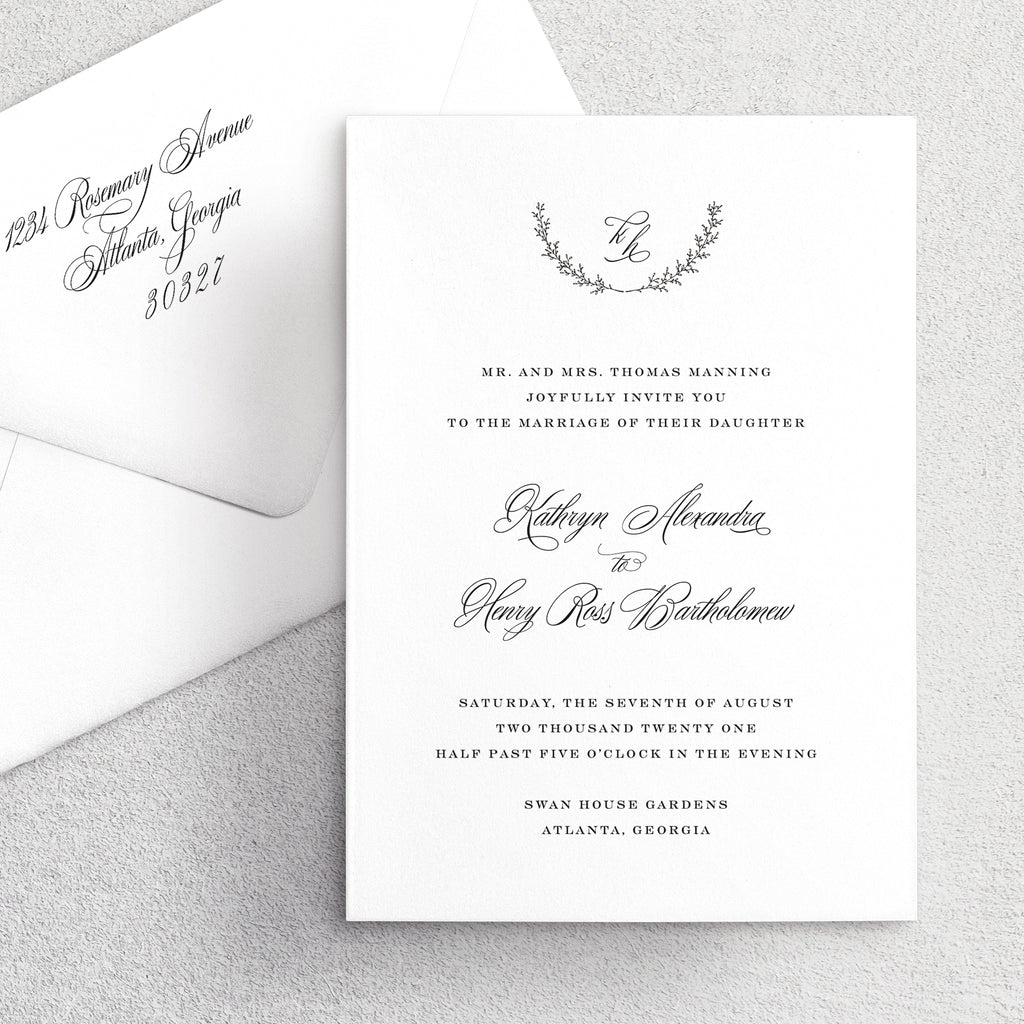 Invitation Suite No. 23