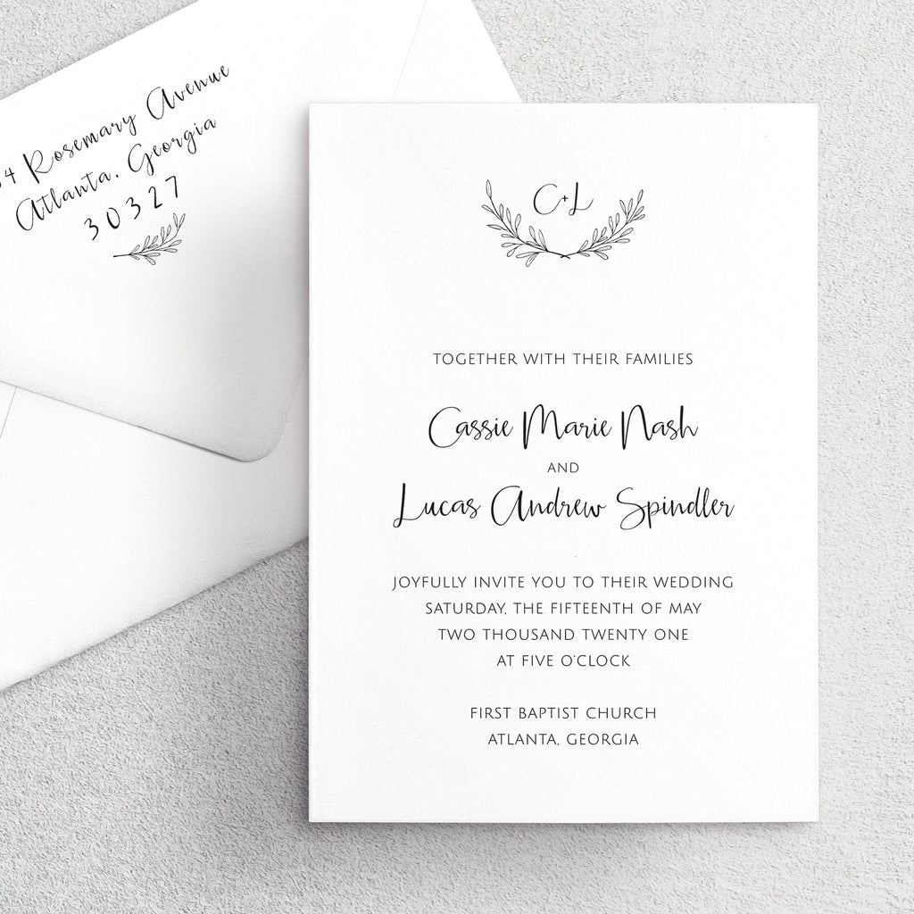 Invitation Suite No. 4