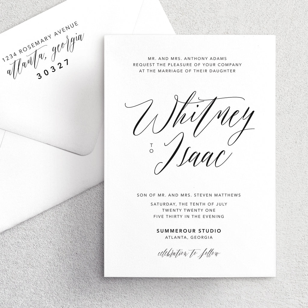 Invitation Suite No. 5