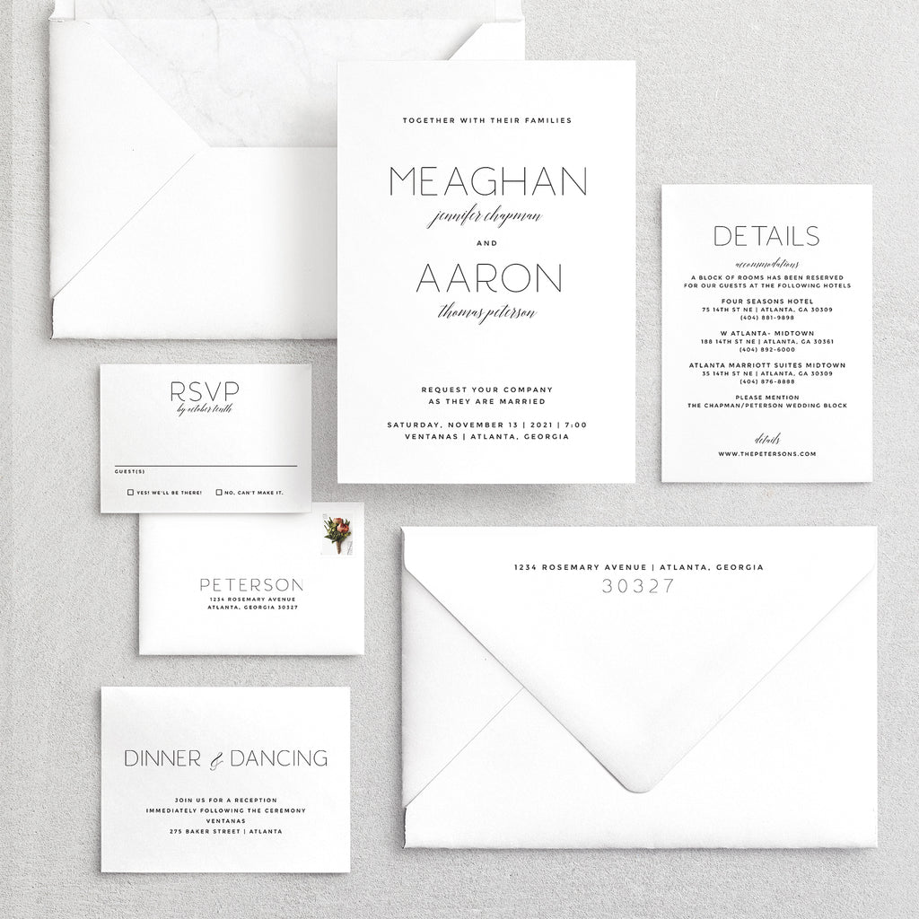 Invitation Suite No. 7