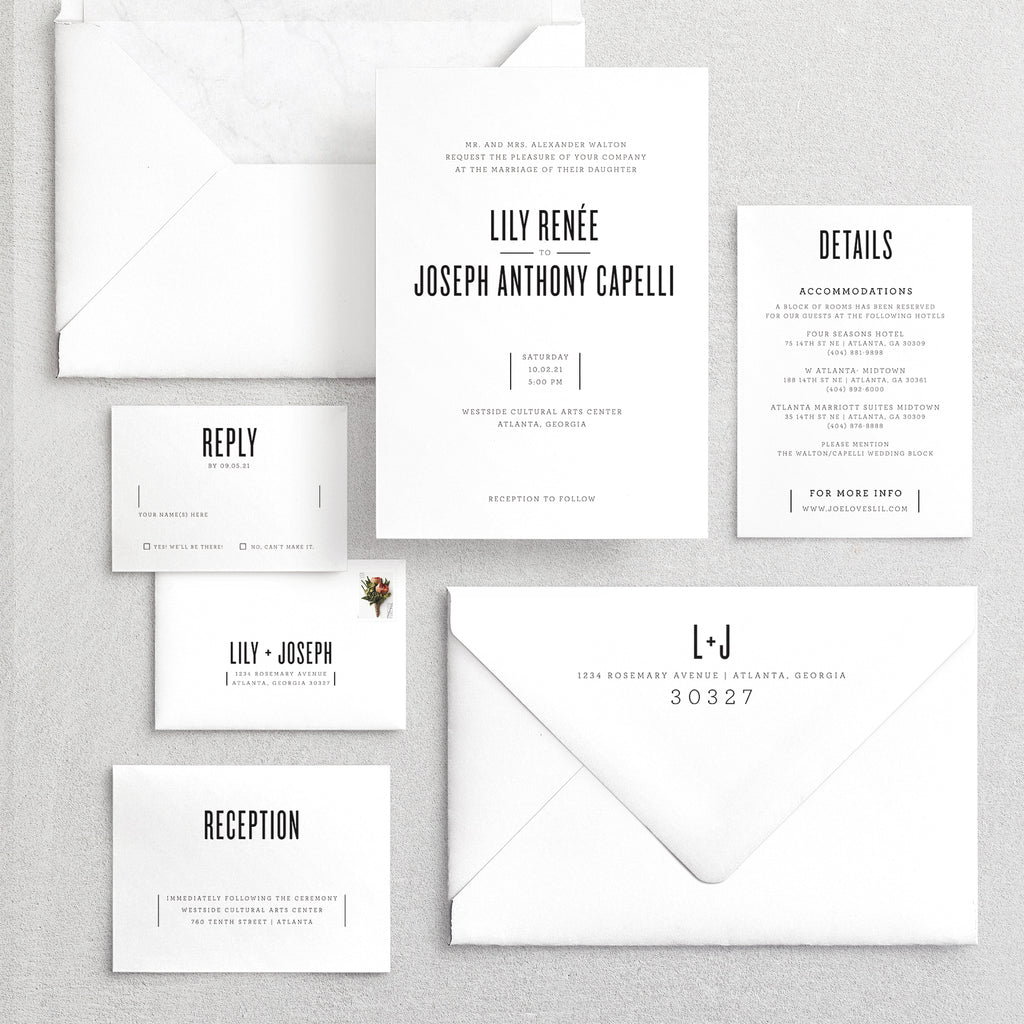 Invitation Suite No. 8