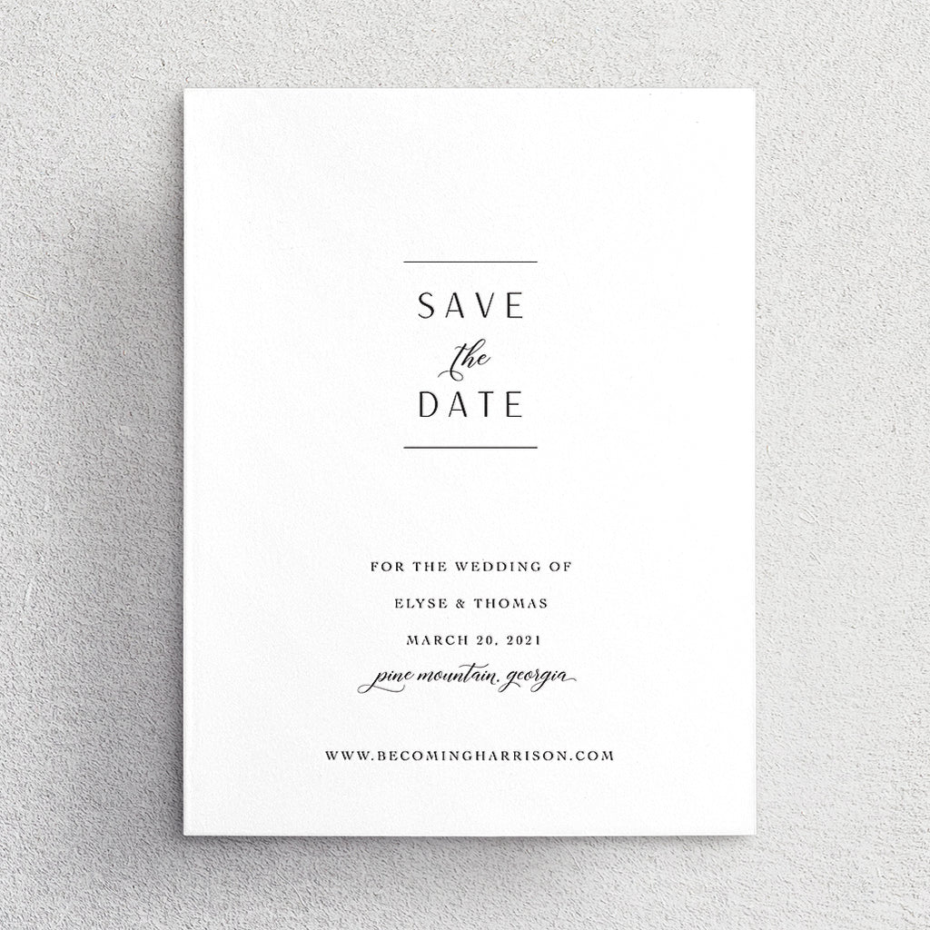 Save the Date No. 12
