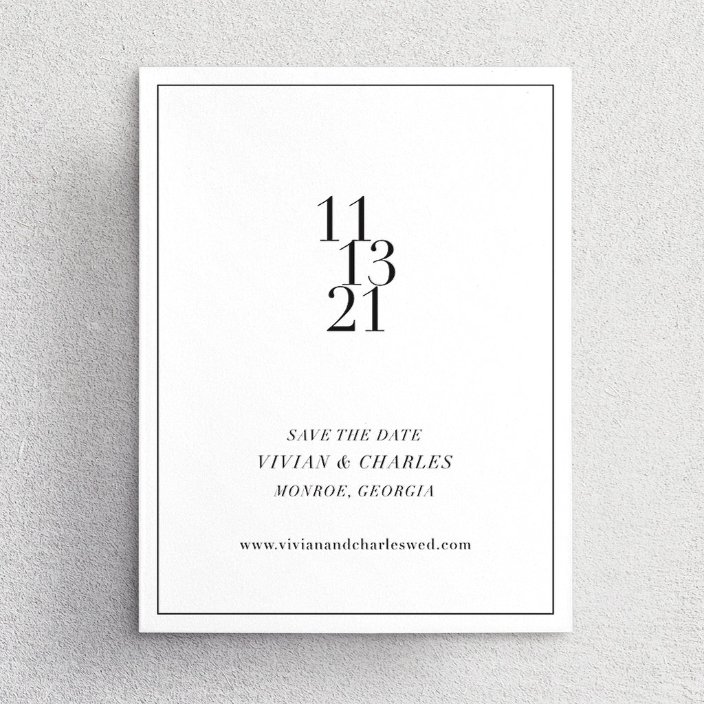 Save the Date No. 22