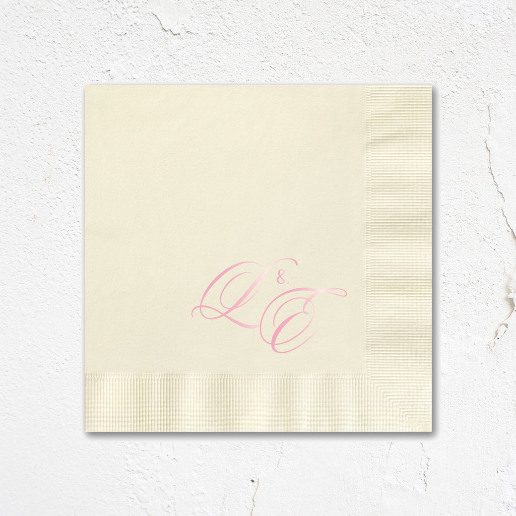 Sloop Monogram Napkins