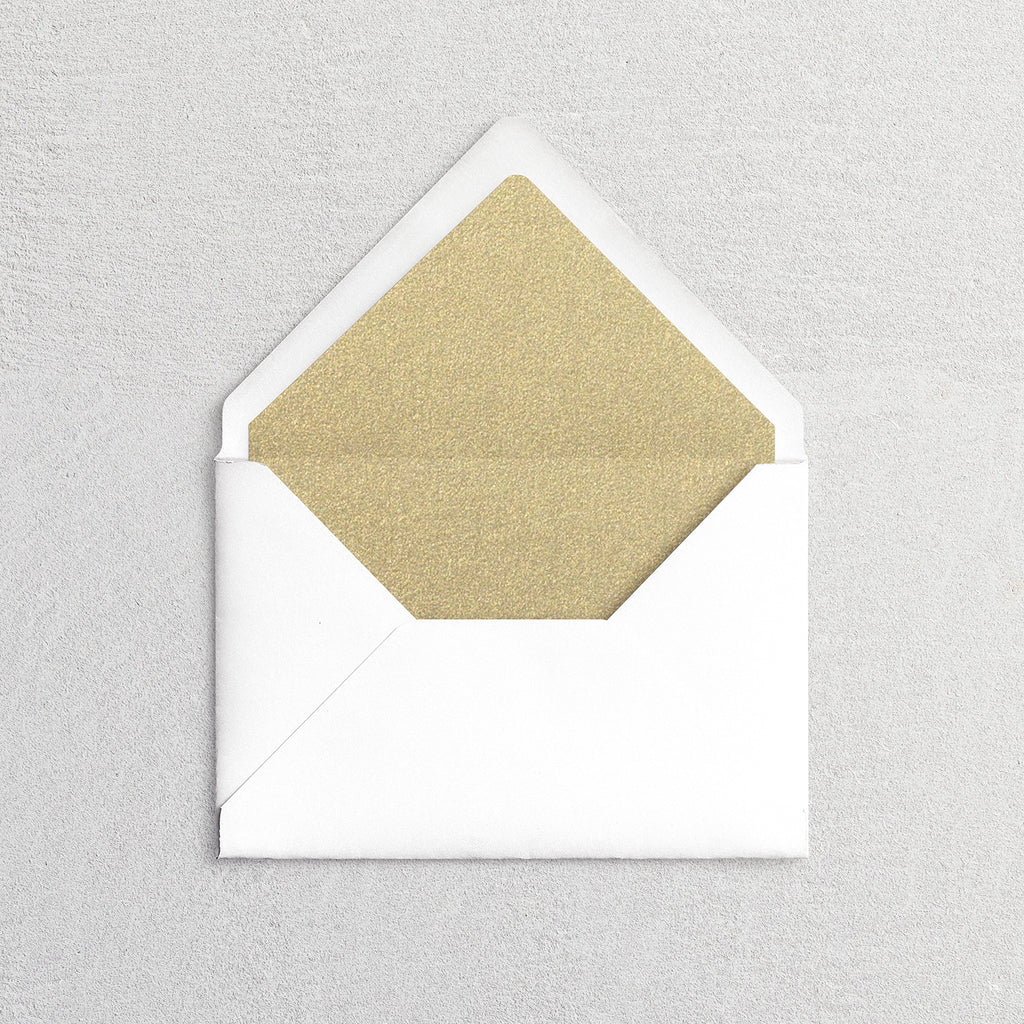 Solid Color Envelope Liners