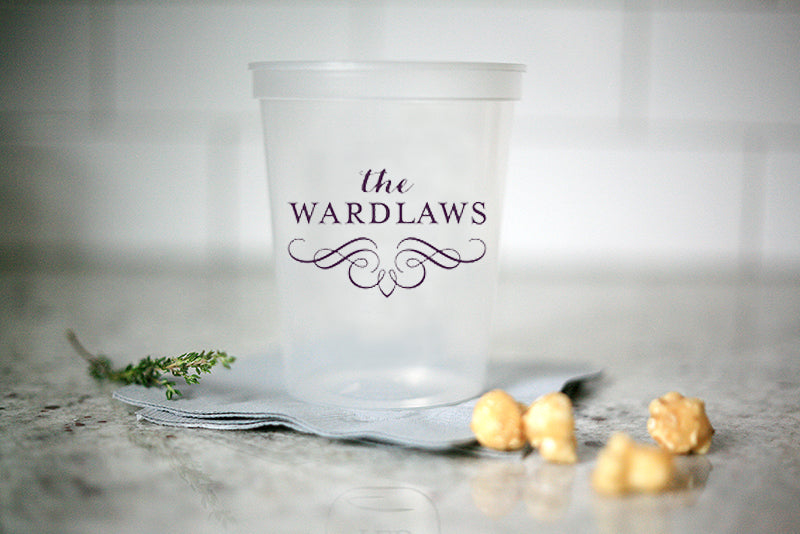 Personalized Stadium Party Cups