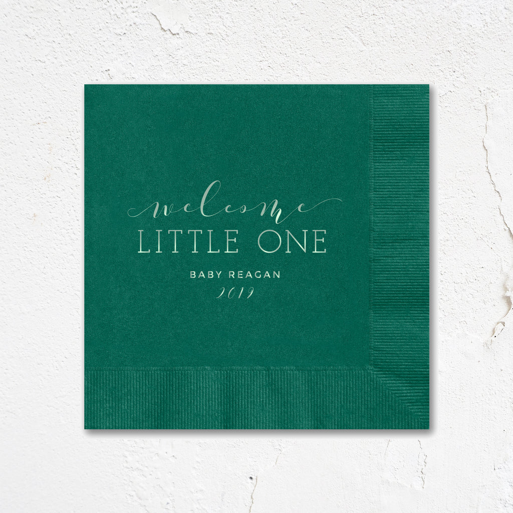 Welcome Little One Napkins
