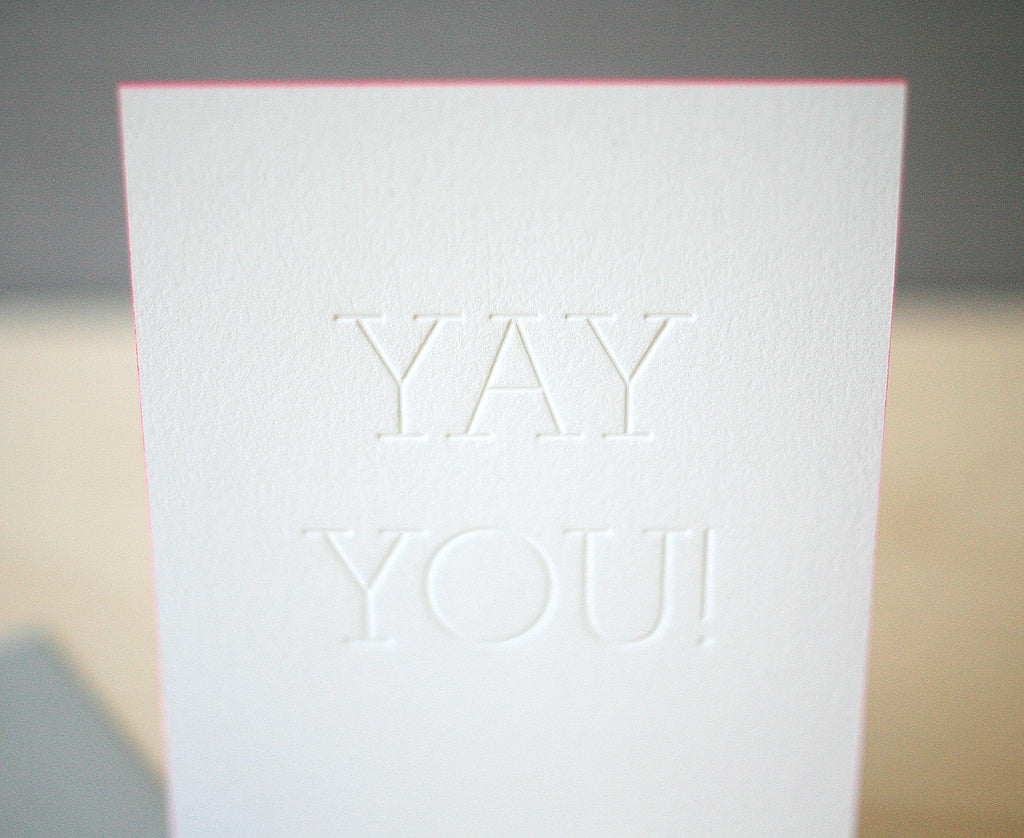Yay You! Greeting Card
