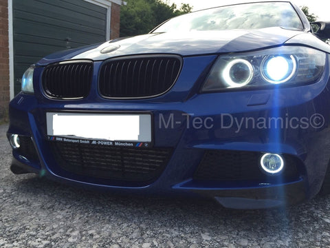 BMW E90 DRL HALO ANGEL RING LED FOG LIGHTS