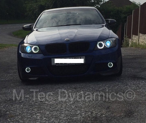 BMW E60 DRL HALO ANGEL RING LED FOG LIGHTS