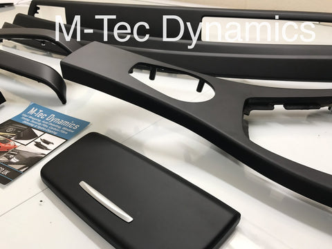 BMW E90 E91 CCC  MATT BLACK 3M INTERIOR TRIM SET