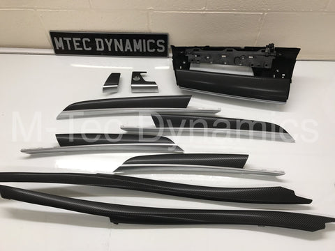 BMW X5 E70 4D BLACK CARBON FIBRE SET
