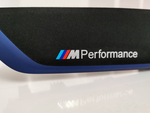 BMW F21 F22 LCI2 M2 Performance Trim Set (Blue Accent)