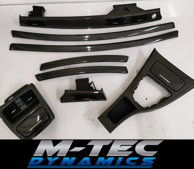 BMW E92 SOTT ELEMENTO GLOSS CARBON TRIM SET