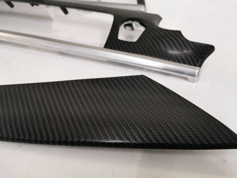BMW 6-SERIES F13 COUPE 4D BLACK CARBON INTERIOR TRIM SET