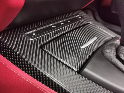 BMW Z4 E89 4D BLACK CARBON INTERIOR TRIM SET