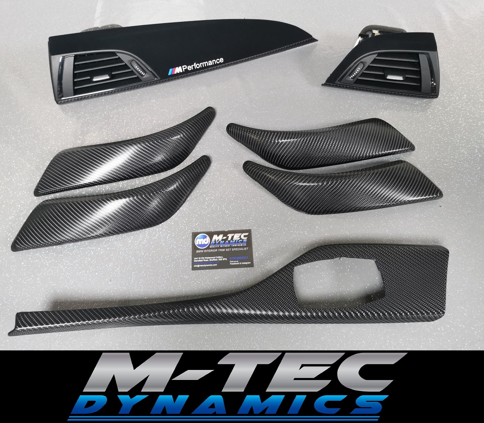 BMW F20 Carbon Performance Trim Set 4D