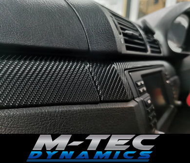 WRAPPING SERVICE - BMW E46 COUPE SALOON TRIM SET