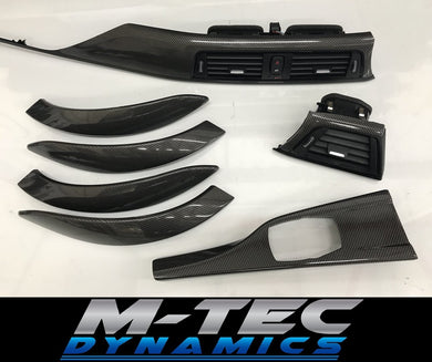 BMW F30 F80 TRIM SET SOTT ELEMENTO CARBON FIBRE